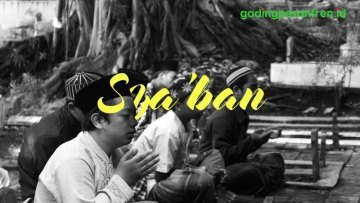 Doa di Bulan Syaban