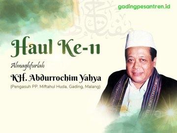 Mengenang Figur Teladan: KH Abdurrochim Amrullah Yahya