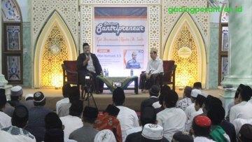 Santri Basmalah Selenggarakan Seminar Santripreneurship di Pondok Gading
